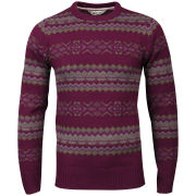 Tokyo Laundry Men's Piccadilly Crew Neck Knit - Oxblood Marl