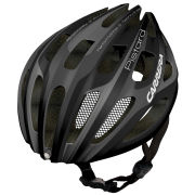Carrera Pistard Road Helmet with Rear Light Matt Black/Silver