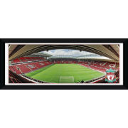 "Liverpool Anfield - 30"""" x 12"""" Framed Photographic"