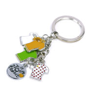 Tour De France Jersey Keychain