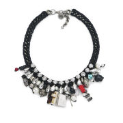 Venessa Arizaga Women's Pandora's Box Necklace - Black