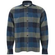 YMC Men's Check Rib Collar Shirt - Multi