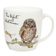 Country Pursuits The Night Watchman Olive Mug (300ml) - Multi
