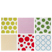 Coaster Dots and Stripes  - Porcelain