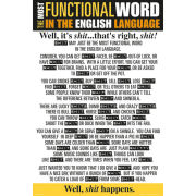 Functional Word Shit - Maxi Poster - 61 x 91.5cm