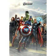 The Avengers Airbase - Maxi Poster - 61 x 91.5cm