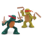 Teenage Mutant Ninja Turtles - Turtles in Training 2-Pack (Michelangelo and Raphael)