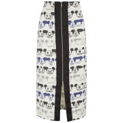 Disney & Wood Wood Women's Vanessa Mickey Print Pencil Skirt - Multi