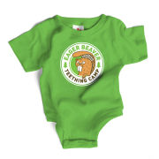 Eager Beaver Teething Camp Snapsuit Baby Grow by Wry Baby
