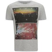 Bench Men's Long Nights T-Shirt - Pale Grey
