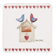 Alex Clark Lovebirds Coasters