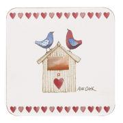 Alex Clark LoveBirds Coasters