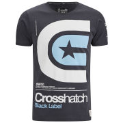 Crosshatch Men's Stargaze T-Shirt - Forged Iron