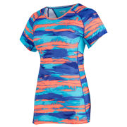 Saucony Women's Freedom Short Sleeve T-Shirt - Twilight/Vizi Electric