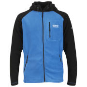 55 Soul Men's Zion Zip Through Fleece Sweatshirt - Royal/Black