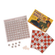 Family Bingo - Retro Board Game