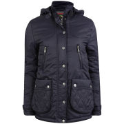 Le Breve Women's Daitya Jacket - Navy