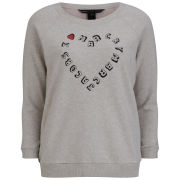 Marc by Marc Jacobs Women's I Heart MJ Sweatshirt - Slate Grey