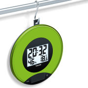 Kitchen Scales and Wall Clock - Apple