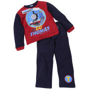 Thomas The Tank Engine Jungen Maximum Speed Pyjama Set - Rot/Royalblau