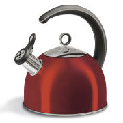Morphy Richards Accents 2.5 Litre Whistling Kettle - Red