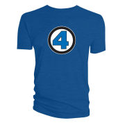 Fantastic Four Logo T-Shirt - Blue