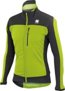Sportful Performance Men's Protest Softshell Jacket - Green/Anthracite