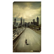 The Walking Dead City - 30x55 Value Canvas
