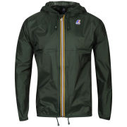 K - Way Men's Claude Classic Full Zip Jacket - Forest Green