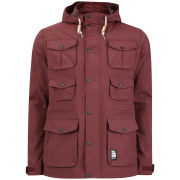 Crosshatch Men's Landcost Jacket - Port