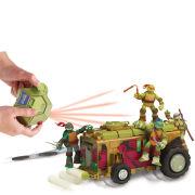 Teenage Mutant Ninja Turtles Ninja Control RC Shellraiser with Manhole Cover Cannon