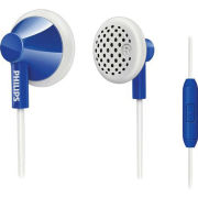 Philips SHE2105DB/28 Earphones with Mic - Dark Blue