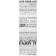 Live Your Life - Midi Poster - 30.5cm x 91.5cm