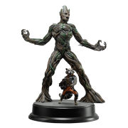 Dragon Action Heroes Marvel Guardians of the Galaxy Groot and Rocket Raccoon 1:9 Scale Figure Kit