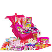 Deluxe Pink Retro Sweet Box - Small