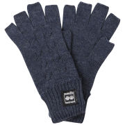 Crosshatch Men's Fishline Fingerless Gloves - Blueberry Marl