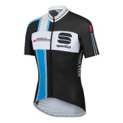 Sportful Gruppetto Aero Jersey - Black/Blue