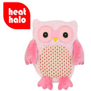 Hooty Heatable Owl - Pink