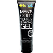 Rehab London Men's Cold Turkey Shaving Gel (125ml)