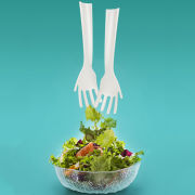Fred Idle Hands Salad Servers