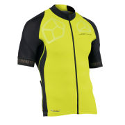 Northwave Galaxy Short Sleeve Jersey - Yellow Fluo/Black