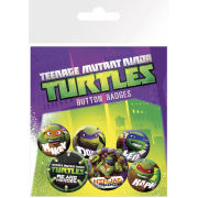 Teenage Mutant Ninja Turtles Heroes - Badge Pack