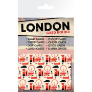 London Pattern - Card Holder
