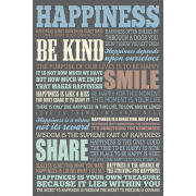 Happiness Quotes - Maxi Poster - 61 x 91.5cm