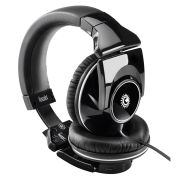 Hercules HDP Light-Show DJ-Adv Headphones - Black/White
