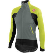 Castelli Alpha Wind Long Sleeve Full Zip Jersey - Laurel