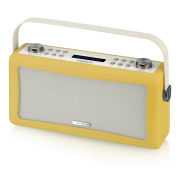 View Quest Hepburn Bluetooth Audio System with DAB+/FM Radio - Mustard