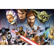 Clone Wars Characters - Maxi Poster - 61 x 91.5cm