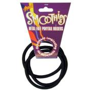 Blax Metal Free Ponytail Bands - Black