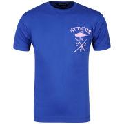 Atticus Men's Crossbird Short Sleeved T-Shirt - Blue